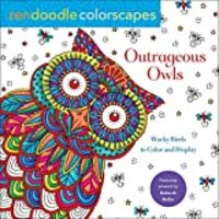 Zendoodle Colorscapes: Outrageous Owls: Wise Birds to Color and Display