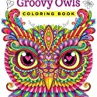 Groovy Owls Coloring Book (Coloring is Fun) (Design Originals) 32 Adorable Art Activities with Quiet, Stoic, Wise, and Happy Owls, plus Beginner-Friendly Advice, Techniques, Color Choices, & Examples