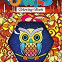 Owls Coloring Book: Color the World of Wise and Mindful Owls