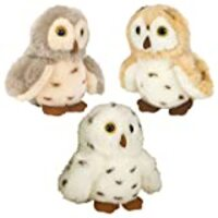 Wild Republic Owl Plush, Stuffed Animal, Plush Toy, Gifts for Kids, Cuddlekins 5 inches