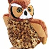 "Wild Republic Cuddlekin Great Horned Owl 12"" Plush"