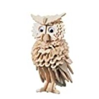Puzzled Owl Wooden 3D Puzzle Construction Kit