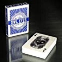 Owl Eyes Playing Cards Deck - Midnight Blue