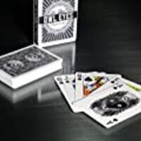 Owl Eyes Playing Cards Deck - Nocturnal Black