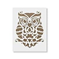 Owl Stencil Template - Reusable Stencil with Multiple Sizes Available