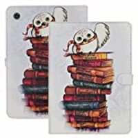 YHB iPad 2017/2018 iPad 9.7-inch Case The Messenger Cute Owl Pattern Leather Flip Stand Case Cover for Apple iPad 9.7-inch