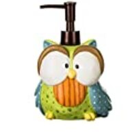 Borders Unlimited Owl Lotion/Soap Pump Who's Hoo, Multi