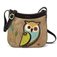 Chala Crescent Crossbody with Adjustable Strap - Owl-A Taupe