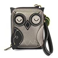 Chala Cute-C - Credit Card Holder/Wallet Wristlet - Owl