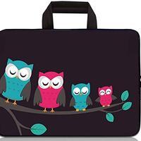 Chromatic Owl Laptop Case 13//15 Briefcase Handbag Carrying Sleeve Case Cover