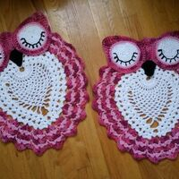 Owl Rug - made to order