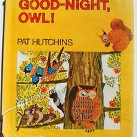 Goodnight Owl! Pat Hutchins vintage hardback children's book 1972