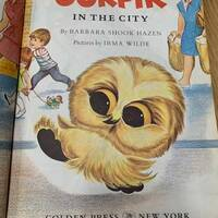 1968 Ookpik in the city, Barbara Shook Hazen, Irma Wilde, Princilla the Poodle, Vintage Children's book, Books my kid loves, Owl book