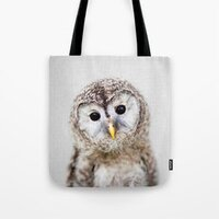 Baby Owl - Colorful bag