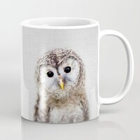 Baby Owl - Colorful mug