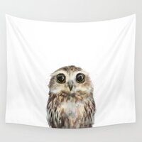 Little Owl tapestry