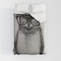Mr. Owl duvet cover