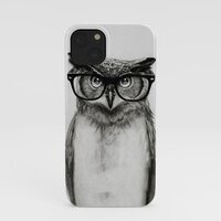 Mr. Owl iphone case