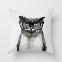 Mr. Owl pillow