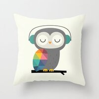 Owl Time pillow