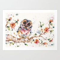 Yep, Cute Is My Middle Name (Owl) print